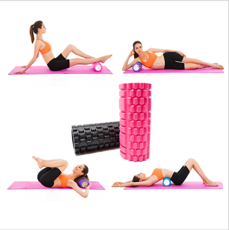 Massage / Exercise Roller for Yoga and Crossfit 33*14 cm BLUE