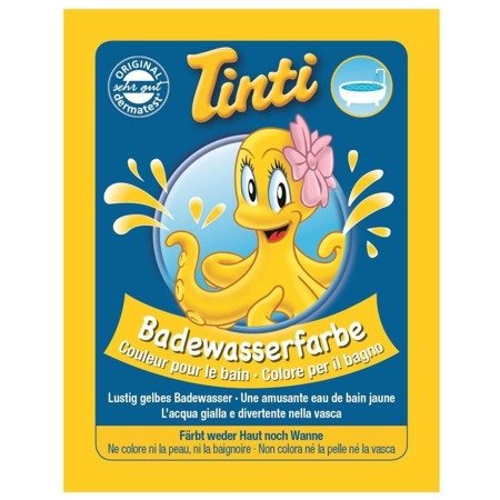 TINTI BATHWATER COLOR - effervescent tablets for children
